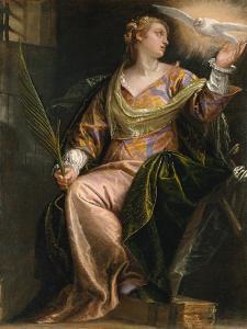 Saint Catherine of Alexandria in Prison, c.1580-5 by Veronese