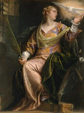 Saint Catherine of Alexandria in Prison, c.1580-5