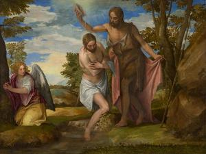 The Baptism of Christ, c.1550-1560 by Veronese