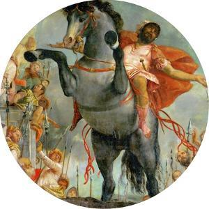 The Sacrificial Death of Marcus Curtius, C.1550-2 by Veronese