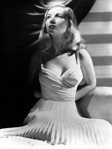 Veronica Lake (1919-1973) American Actress C. 1941