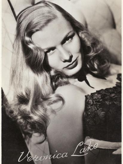 Veronica Lake (Constance Ockleman) American Film Actress--Photographic Print