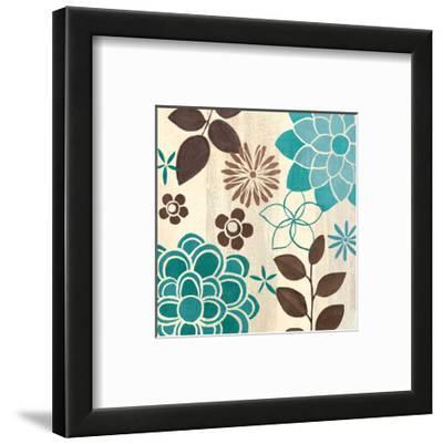 Abstract Garden Blue II