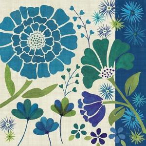 Blue Garden II by Veronique Charron