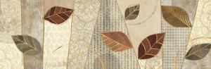 Bohemian Leaves IV Neutral by Veronique Charron