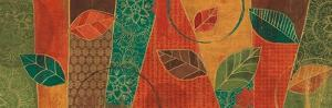 Bohemian Leaves IV by Veronique Charron