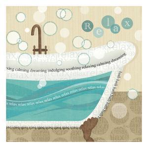 Dancing Bubbles II by Veronique Charron