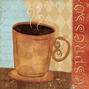 Jazzy Coffee IV by Veronique Charron