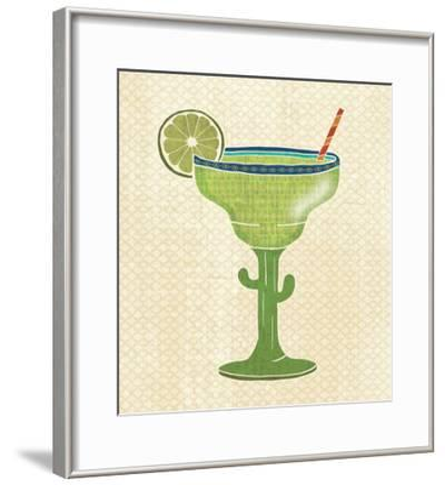 Mexican Fiesta Margarita Glass