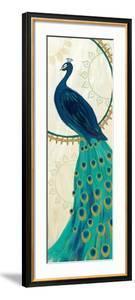 Proud as a Peacock IV by Veronique Charron