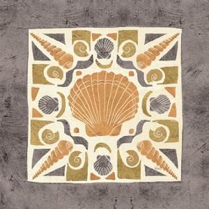 Undersea Gold Tile II by Veronique Charron