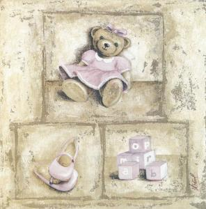Nounours Rose by Véronique Didier-Laurent