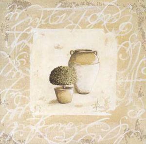 Pots et Buis II by Véronique Didier-Laurent