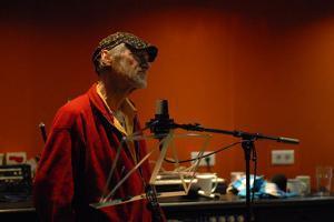 Michael Horovitz, Damon Albarn Studio, 2013 by Veronique Dubois