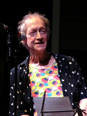 Michael Horovitz, the Tabernacle, Notting Hill, London, 2009