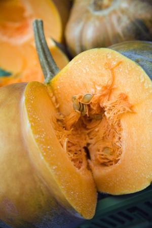 Cut Pumpkin by Veronique Leplat