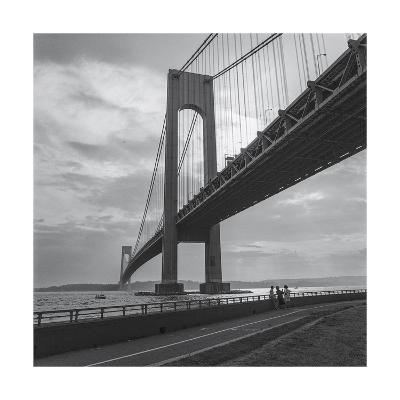 Verrazano Bridge, New York City Afernoon-Henri Silberman-Photographic Print