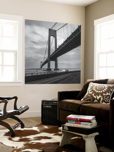 Verrazano Bridge, New York City Afernoon-Henri Silberman-Wall Mural