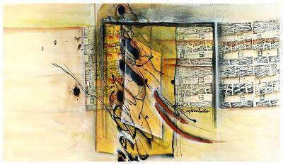 Vers la ruche-Sylvie Cloutier-Art Print