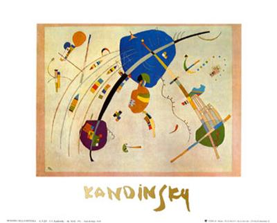 Vers Le Blue, c.1939-Wassily Kandinsky-Art Print