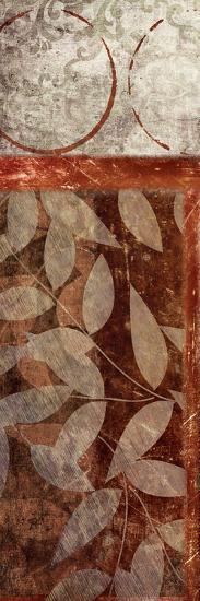 Vert Leaves 1-Kristin Emery-Art Print