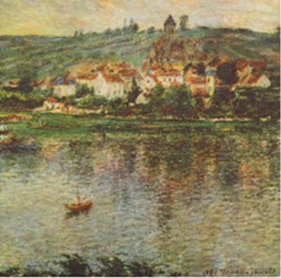 Vertheuil, c.1901-Claude Monet-Art Print