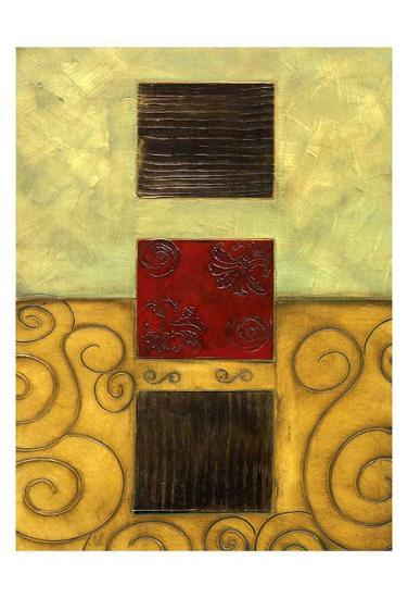 Vertical Abstract I-Anne Courtland-Art Print