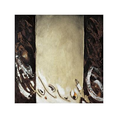 Vertical Ochre-Antoni Amat-Giclee Print