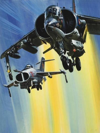 Vertical Take-Off Jets-Wilf Hardy-Giclee Print