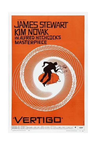 Vertigo, 1958, Directed by Alfred Hitchcock--Giclee Print