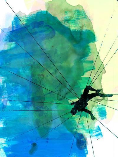Vertigo Watercolor-Lora Feldman-Art Print