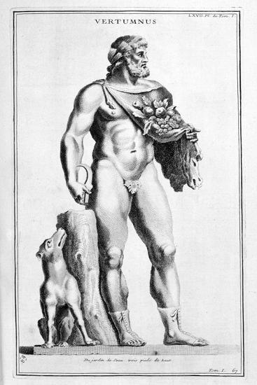 Vertumne, 1757-Bernard De Montfaucon-Giclee Print