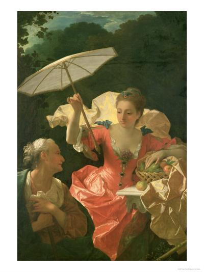 Vertumnus and Pomona-Jean Ranc-Giclee Print
