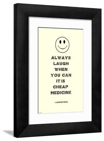 Always Laugh Lord Byron Quote