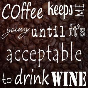 Coffee Keeps Me Going - square by Veruca Salt