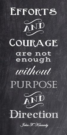 Efforts & Courage quote