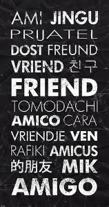 Friend in Different Languages by Veruca Salt