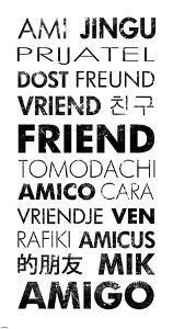 Friend Languages by Veruca Salt