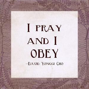 I Pray and I Obey by Veruca Salt