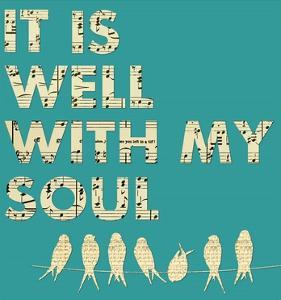 It Is Well With My Soul - Aqua by Veruca Salt