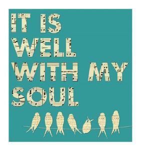 It Is Well With My Soul - Aqua by Veruca Salt