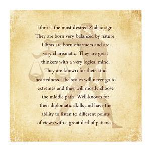 Libra Character Traits by Veruca Salt