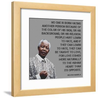 No One   Nelson Mandela Quote