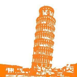 Pisa in Orange by Veruca Salt