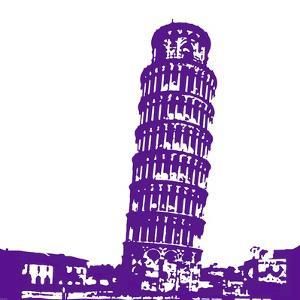 Pisa in Purple by Veruca Salt