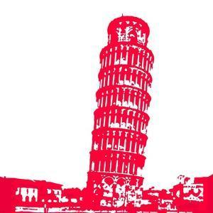 Pisa in Red by Veruca Salt