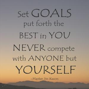 Set Goals by Veruca Salt
