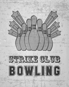 Strike Club Bowling - Gray by Veruca Salt