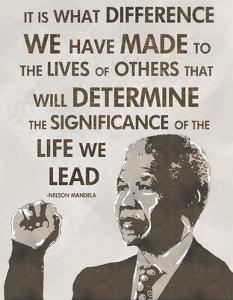 The Life We Lead - Nelson Mandela by Veruca Salt