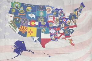 US State Flags by Veruca Salt